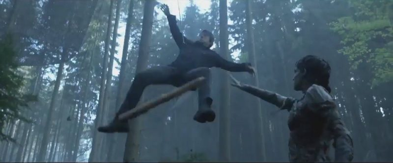 tom cruise thrown in air from the mummy