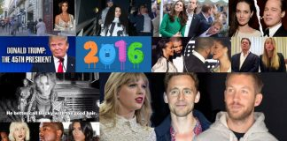 top 10 biggest and craziest celebrity stories of 2016 images