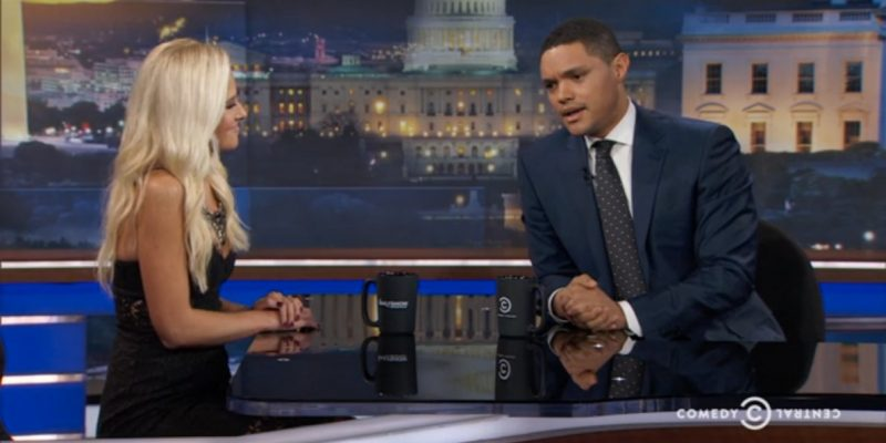 trevor noah proved worthy of daily show with tomi lahren interview 2016