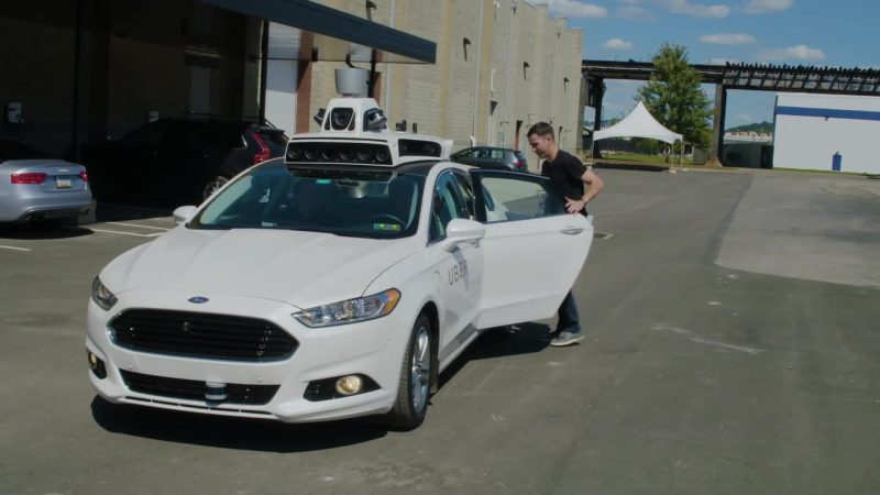 uber self driving car stopped in california