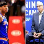 will carmelo anthony and phil jackson call a truce 2016