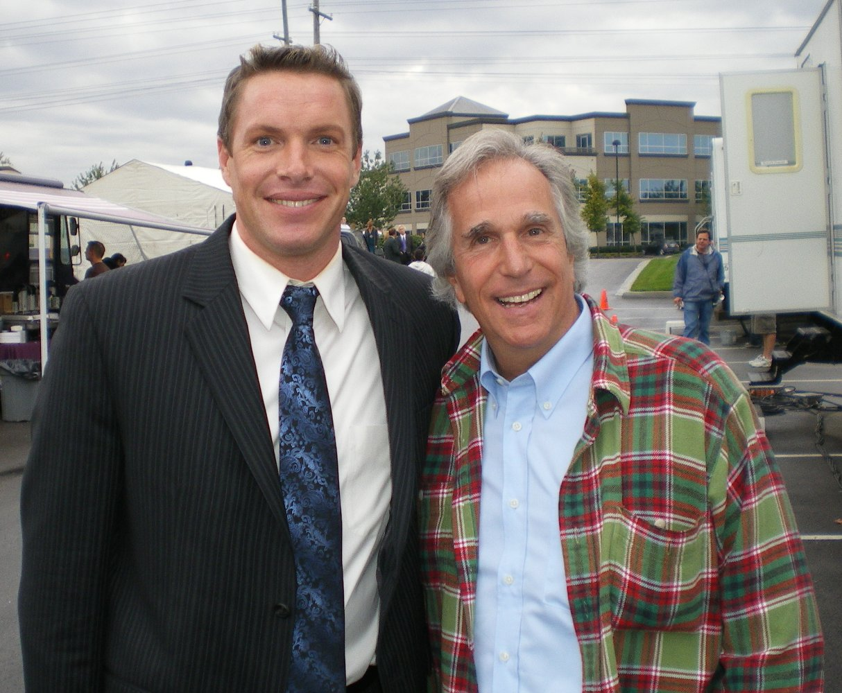 woody jeffreys with henry winkler movie tv tech geeks interview