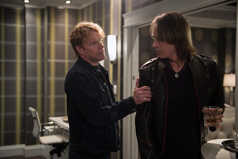woody jeffreys with rick springfield on supernatural