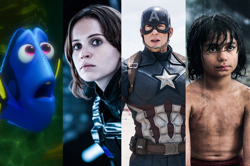 2016 Box Office aided by superheroes, sequels and animation images