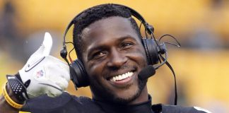 Antonio Brown goes Facebook Live Again 2017 images
