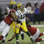 Atlanta Falcons cool off Aaron Rodgers and Green Bay Packers