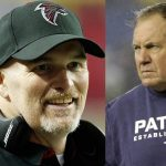 Bill Belichick vs. Dan Quinn 2017 super bowl images
