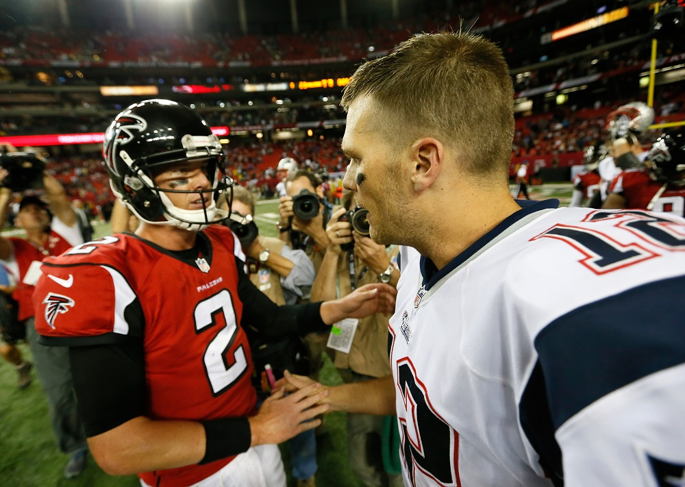 NFL Winners and Losers Week 17 tom brady matt ryan man up 2017 images