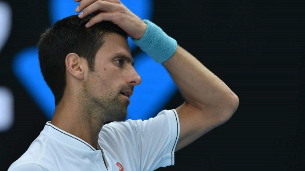 Novak Djokovic Out of the 2017 Australian Open images
