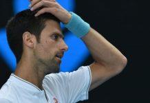 Novak Djokovic Out of the 2017 Australian Open images