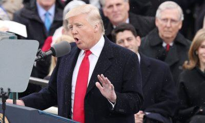 President Donald Trump's Inauguration speech not so surprising 2017 images