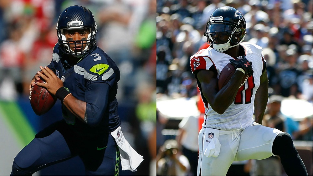 Round 2 atlanta Falcons vs seattle Seahawks