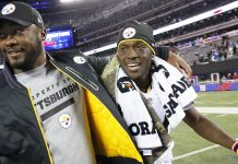 Steelers Antonio Brown still in doghouse with Mike Tomlin 2017 images