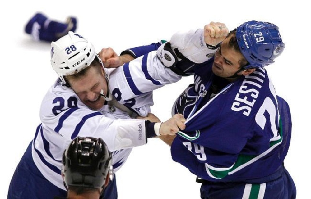 Toronto Maple Leafs, Vancouver Canucks re-emerging in NHL standings 2017 images