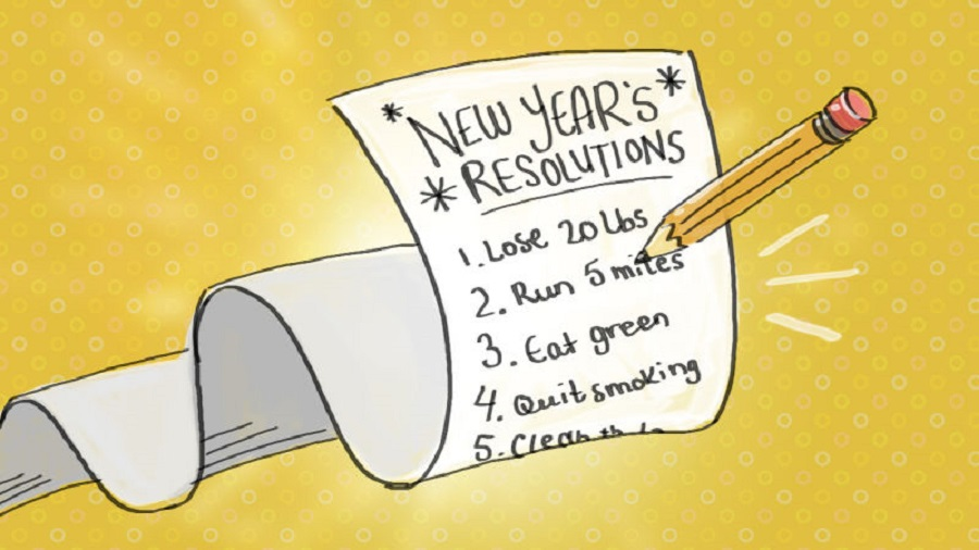 Keeping New Year's Resolutions