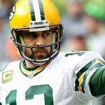 aaron rodgers on fire for packers