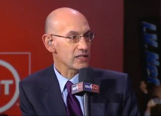 adam silver 5 minute plan for nba games 2017 images