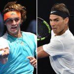 alexander zverev cant hold off rafael nadal at australian open 2017