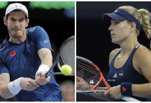 andy murray and angelique kerber knocked out 2017 australian open images