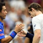 andy murray kei nishikori out of 2017 australian open images