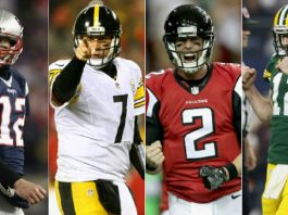 atlanta falcons earn their way into patriots steelers and packers territory 2017 images