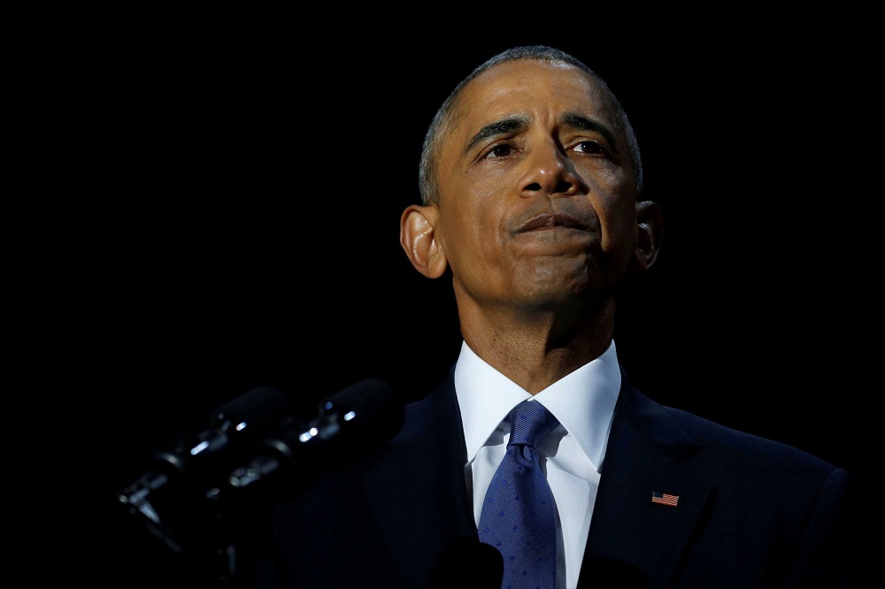 Barack Obama's nostalgic final speech can't guarantee his legacy 2017 images