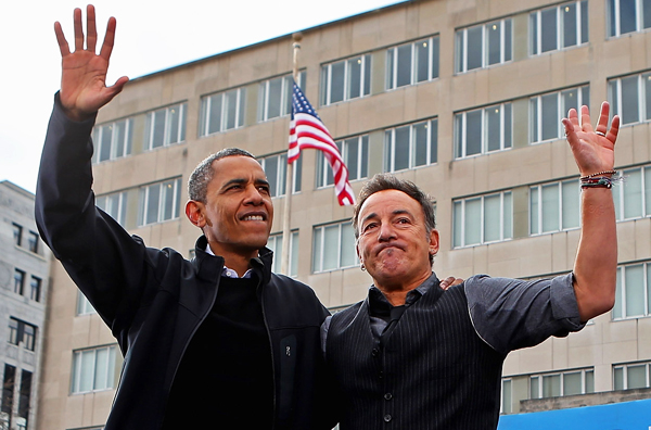 bruce springsteen barack obama farewell