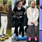 celebrity hoverboards