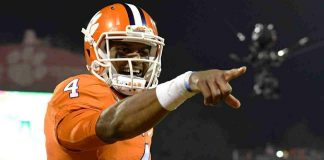 clemsons deshaun watson skips cleveland browns request 2017 images