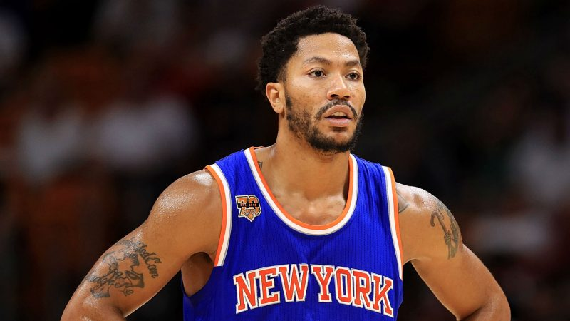derek rose fined for skipping out on knicks