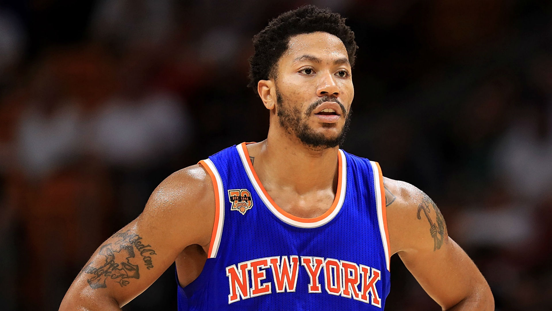 derrick rose hooky fine from knicks 2017 images