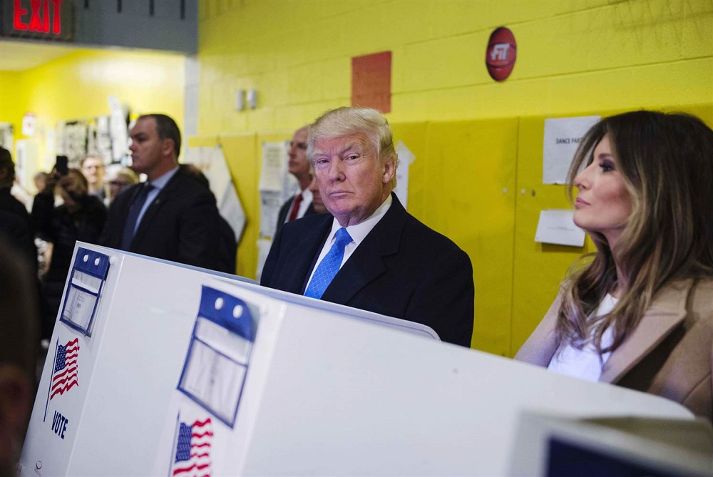 despite debunking donald trump sticks to voter fraud claims 2017 images