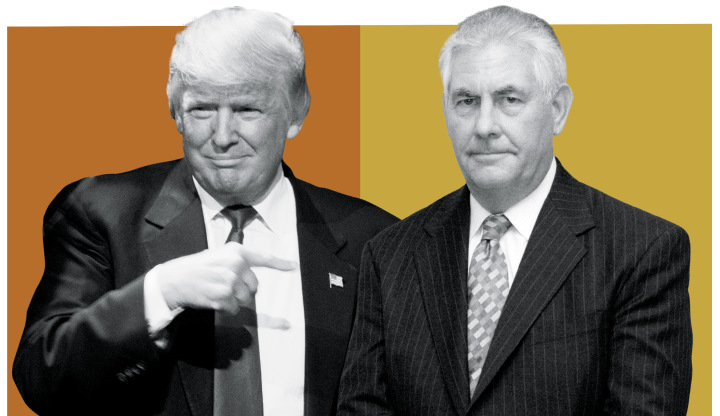 donald trump looks to get rex tillerson for secretary of state 2017 images
