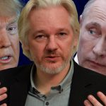 donald trump uses julian assange for russia 2016 images