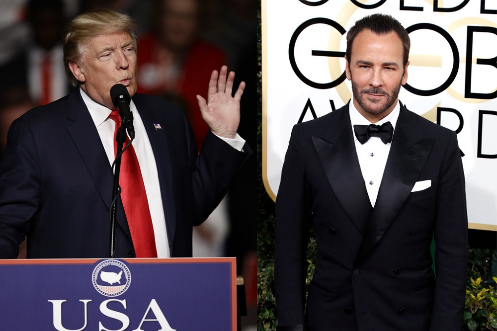 Donald Trump vs Tom Ford plus Zayn Malik, Louis Tomlinson truce 2017 images