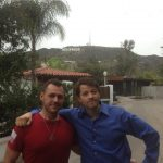 dustin dorough with misha collins gishwhes movie tv tech geeks