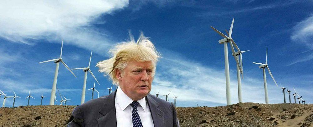 Future Uncertain For Solar And Wind Power With Donald
