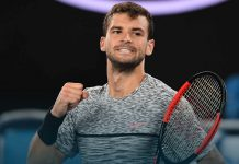 grigor dimitrov takes out richard gasquet at australian open 2017 images
