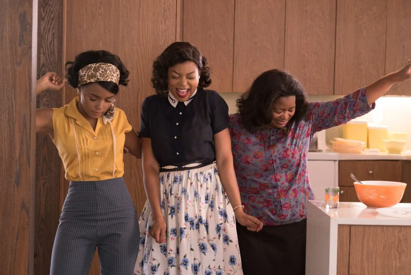 hidden figures landed top spot at box office