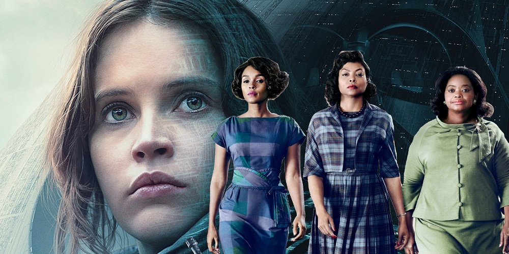 'Hidden Figures' wound up topping box office over 'Rogue One' 2017 images