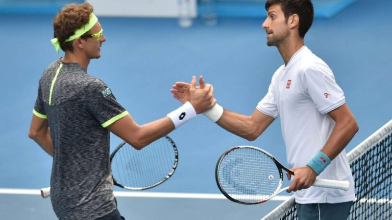 istomin knocks novak djokovic out of australian open 2017