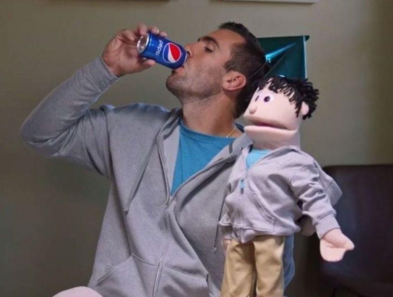 joe flacco puppet show pepsi