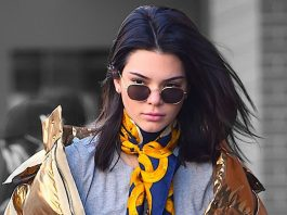 kendall kylie jenner foursome in nyc and kim kardashian cameo 2017 images