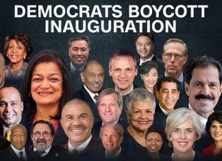 list grows of democrats boycotting donald trump inauguration 2017