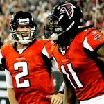 matt ryan and julio jones falcons