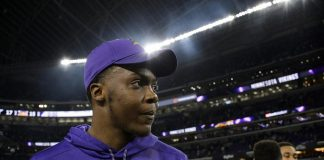 minnesota vikings on hold with teddy bridgewater 2017 images
