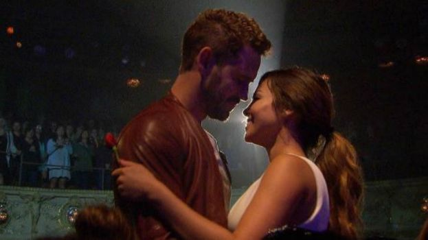 nick viall with danielle the bachelor
