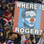patriots fans show support