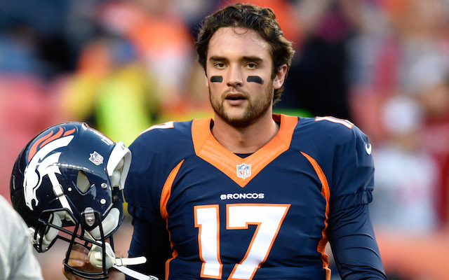 brock Osweiler Erases some Pity 2017 images