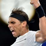 rafael nadal knocks out zverev for australian open 4th round 2017 images